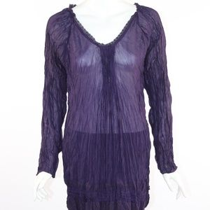 Love Stitch Medium Women's Purple Tunic/Dress